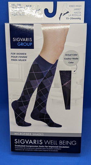 Knee-High Compression Sock
