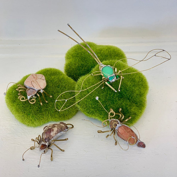 Bug and Dragonfly Pins