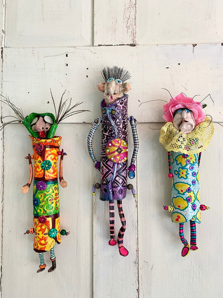 House Grunties - Pottery Wall Hangings