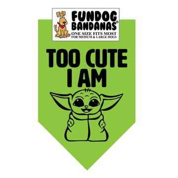 Pop Culture Dog Bandanas (options available)