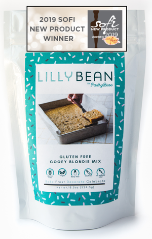 LillyBean Gooey Blondies Mix (Vegan & GF!)
