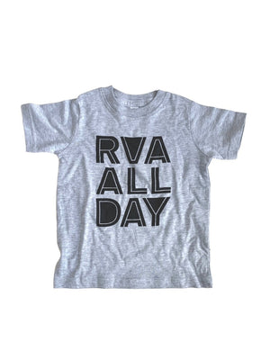 RVA ALL DAY - KIDS T SHIRT