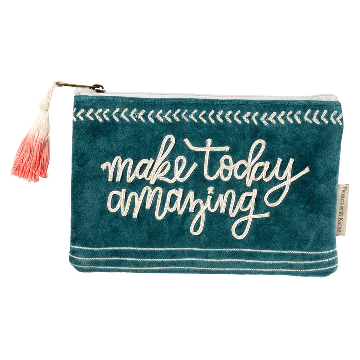 Make Today Amazing Zipper Pouch