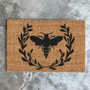 Coir Bee Welcome Mat