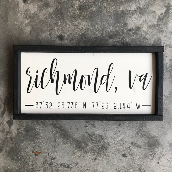 Richmond Coordinates