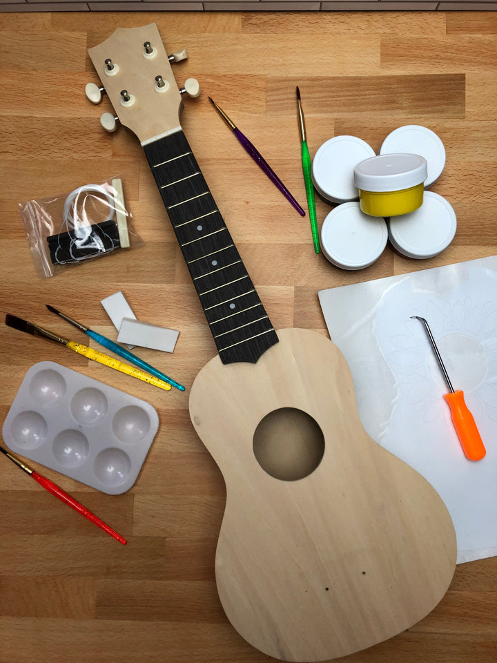 DIY Create a Ukulele