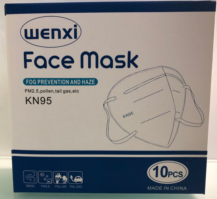 KN95 Mask 10 Pack: Get your PPE ON! KN95 masks at a fantastic price!