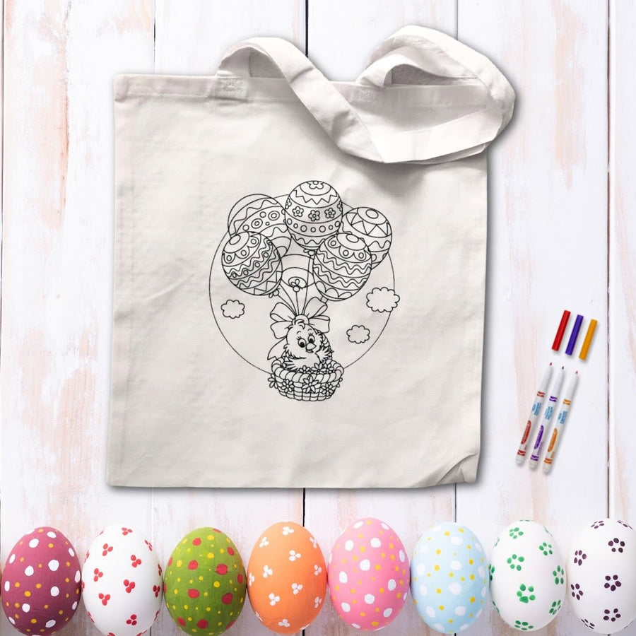 Easter Coloring Tote (options available)
