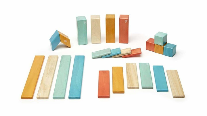 TEGU - 24 PIECE MAGNETIC WOODEN BLOCK SET
