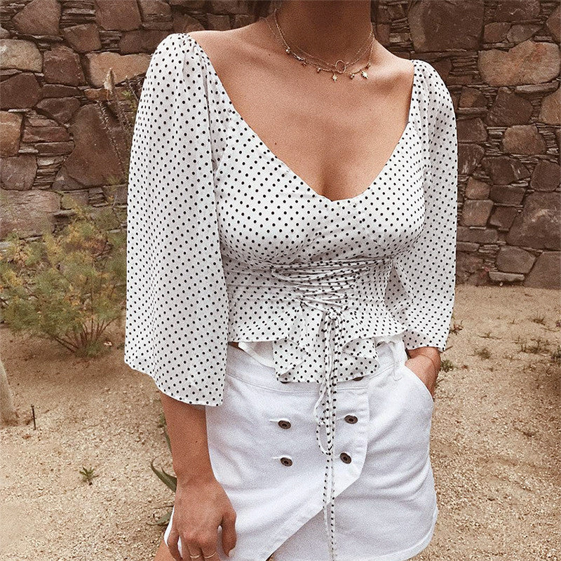 Casual party blouse