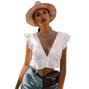 Conmoto Elegant Crop Top