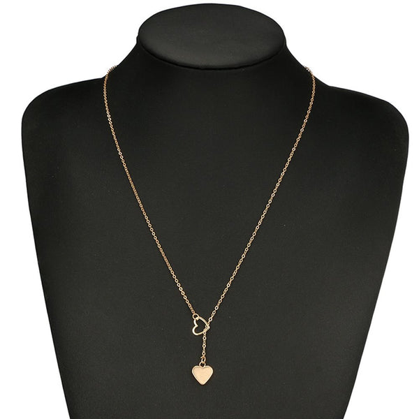 Pendant Necklace Heart-Shaped E-Plating Female Necklaces