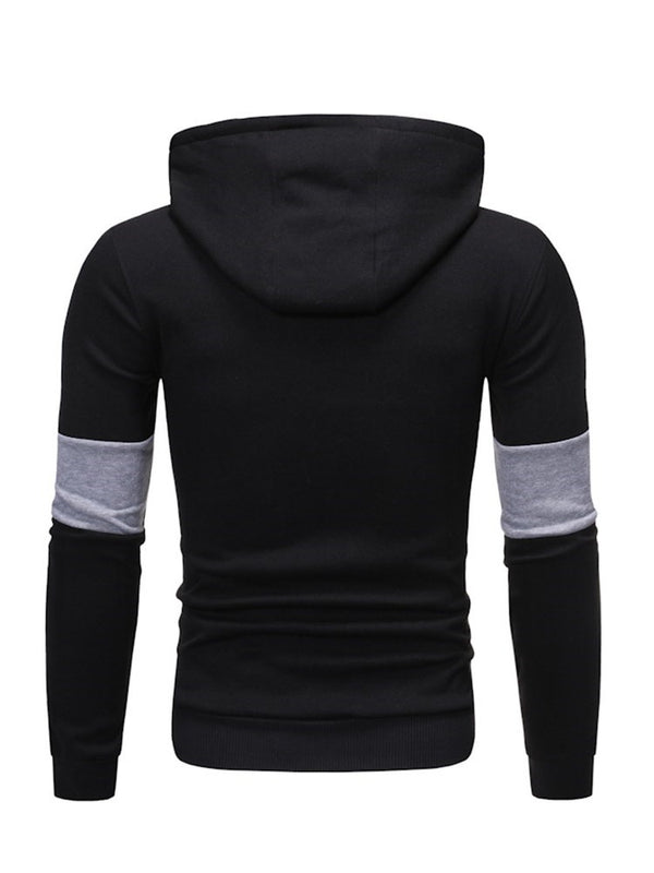 Hooded Pocket Pullover Casual Men's Hoodies
