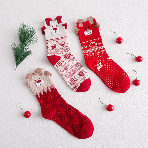 Winter Warm Cotton Socks