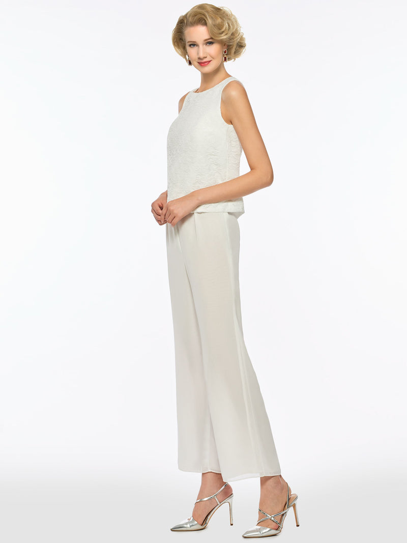 Scoop Sheath/Column Long Sleeves Floor-Length Chiffon Mother Of The Bride Dress