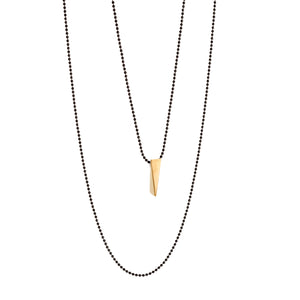WEDGE necklace - gold
