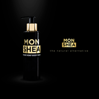 Monshea liquid african black soap