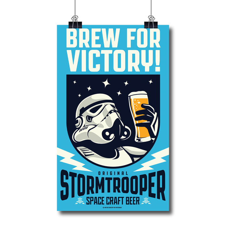 'Brew For Victory!' Print