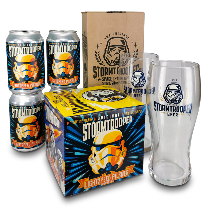 Lightspeed Pilsner 2.0 'Buddy' Fridge Pack