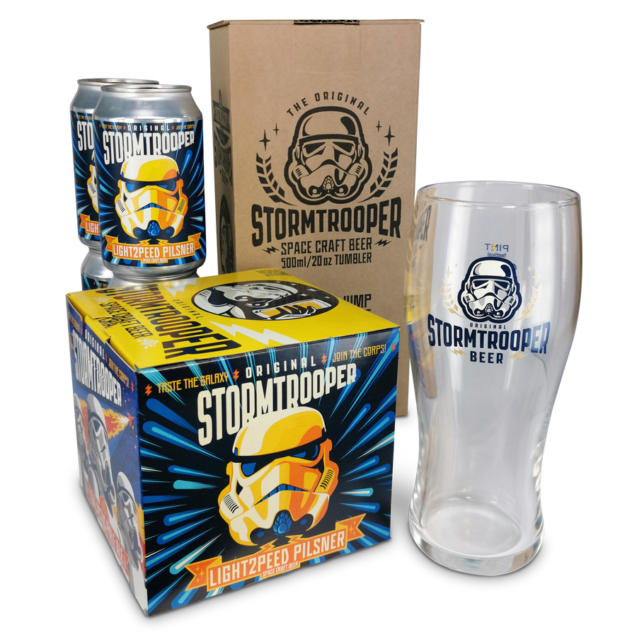 Lightspeed Pilsner 2.0 'Field' Fridge Pack