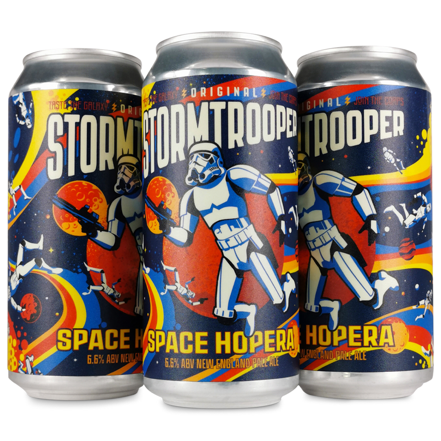 SPACE HOPERA - NEW ENGLAND PALE ALE