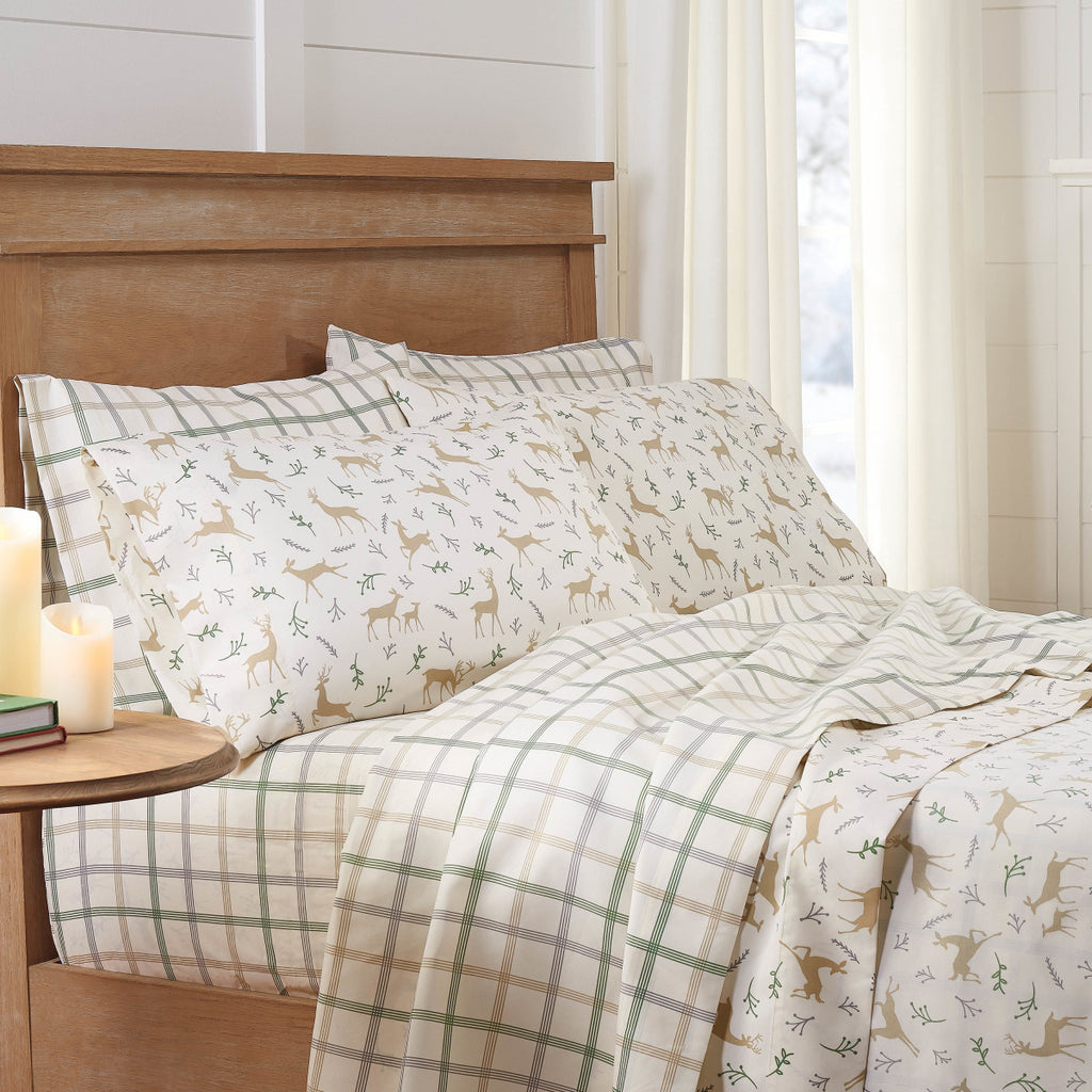 Winter Plaid Two Pack Sheet Set