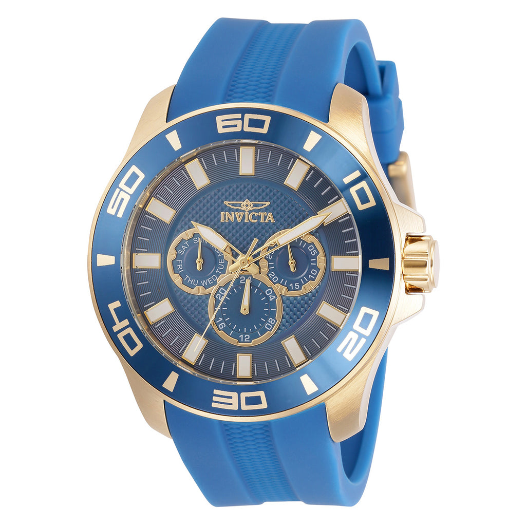 Men's 'Pro Diver' Chronograph Rubber Strap Watch