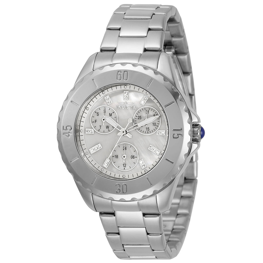 Ladies 'Angel' Mother of Pearl Chronograph Bracelet Watch