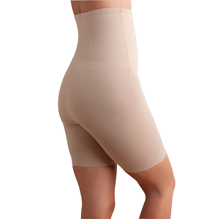 Back Magic Hi Waist Thigh Slimmer - NUDE