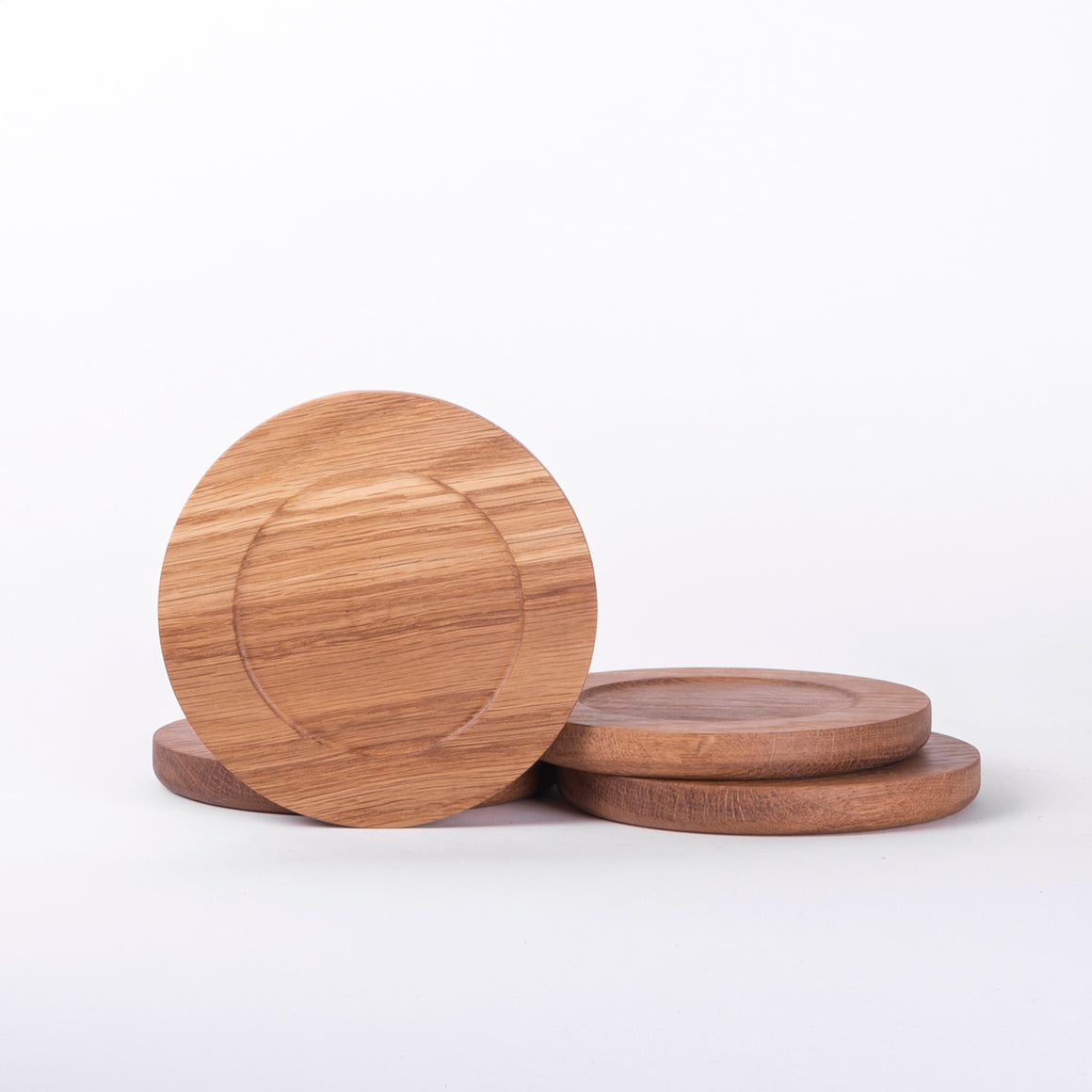 Wooden Coasters, Set of 2