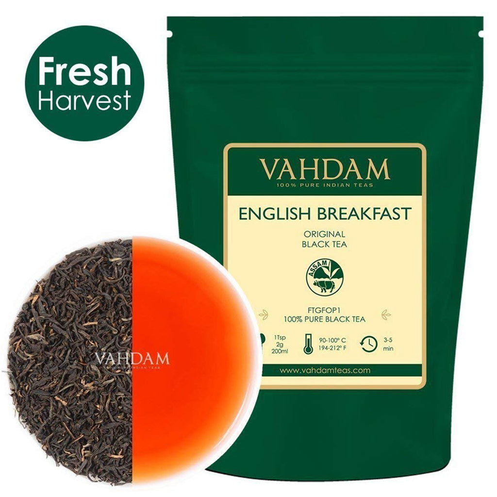 Original English Breakfast Black Tea Leaves (200+ Cups)