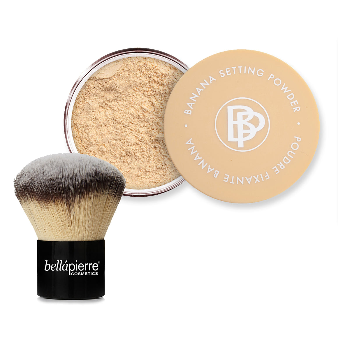 Banana Setting Powder and Kabuki Duo - ORIGINAL