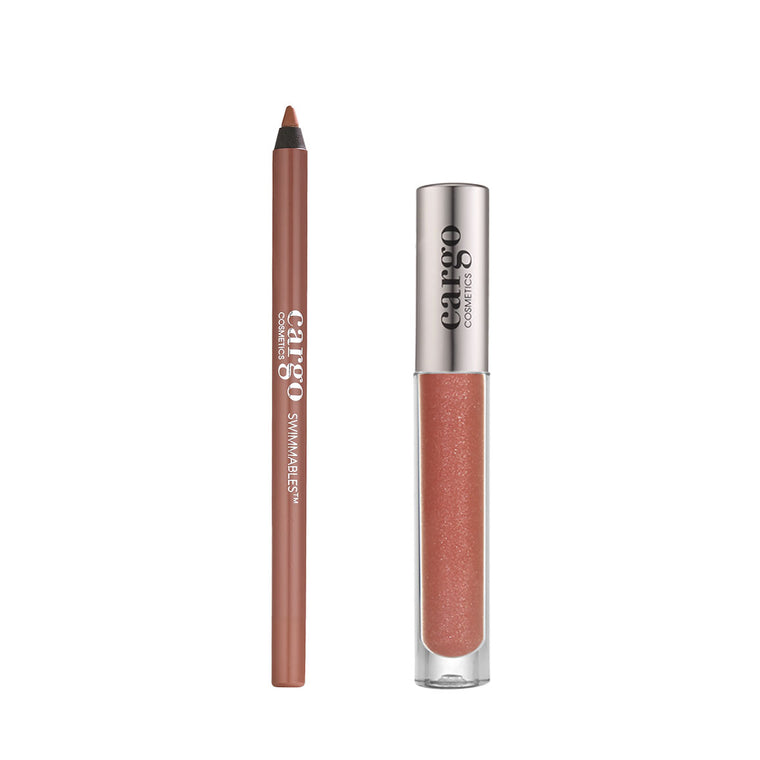Essential Lip Gloss and Swimmables™ Lip Liner 2 Pc Set - Tuscany and Canaria