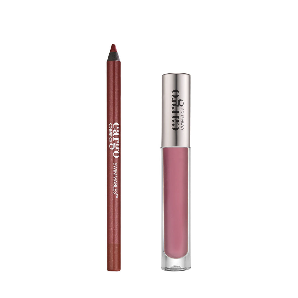 Essential Lip Gloss and Swimmables™ Lip Liner 2 Pc  Set - Stockholm and Moscow