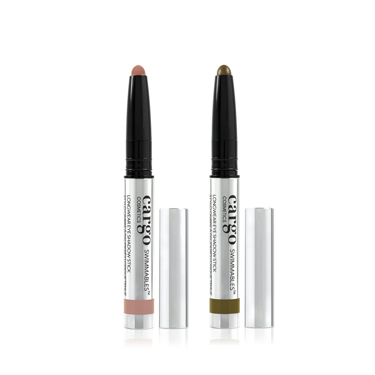 Swimmables™ Eye Shadow Stick 2 Pc Set- Botany Bay and Palm Bay