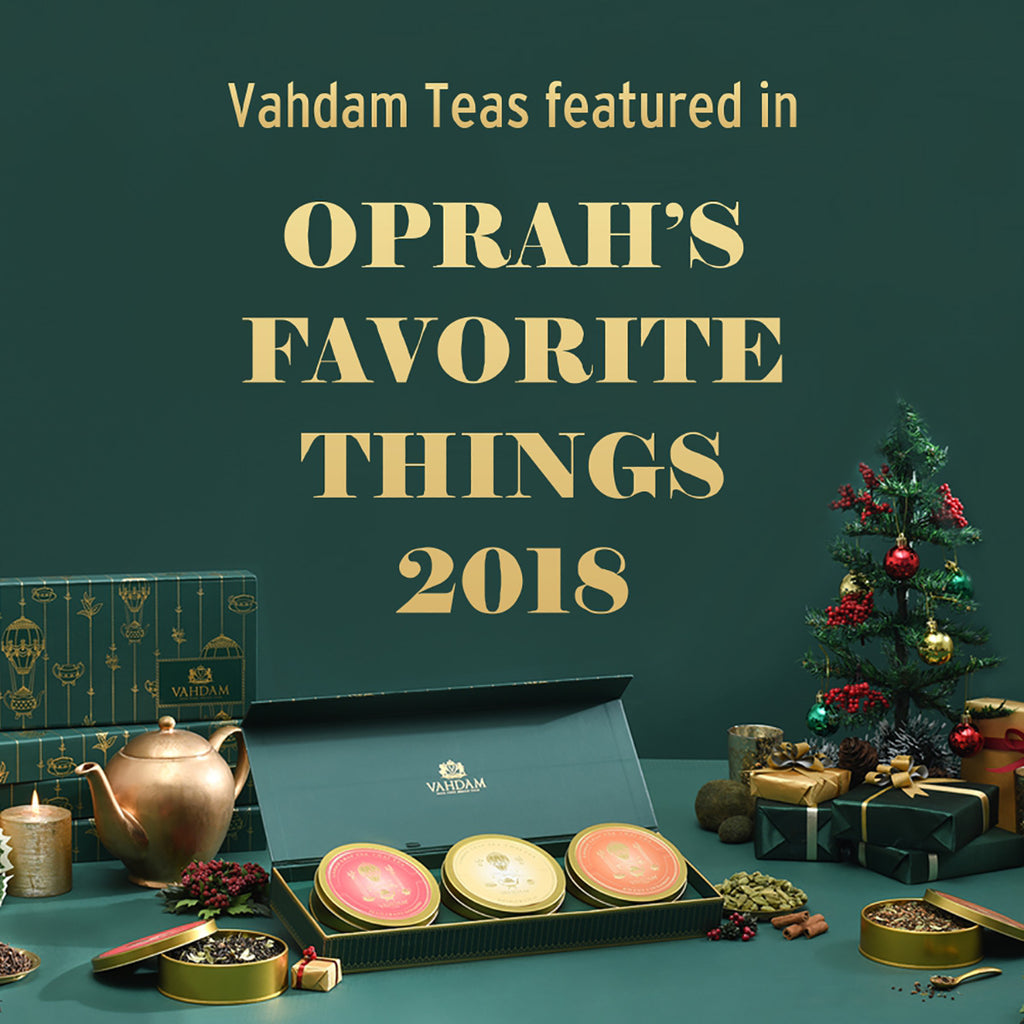 Chai Tea Private Reserve Trio - Oprah's Favorite Things 2018 - Tea Gift Set
