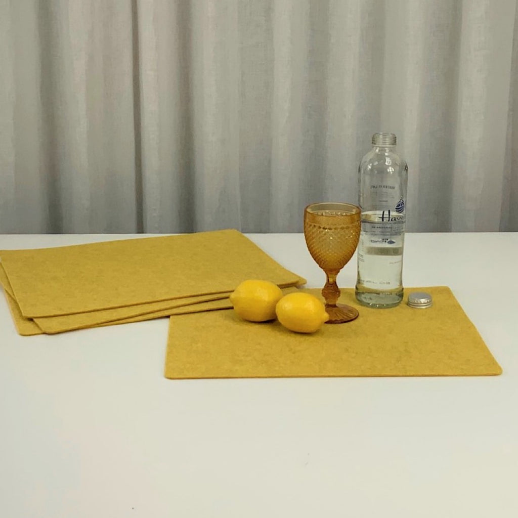 Lemon Rectangle Placemat