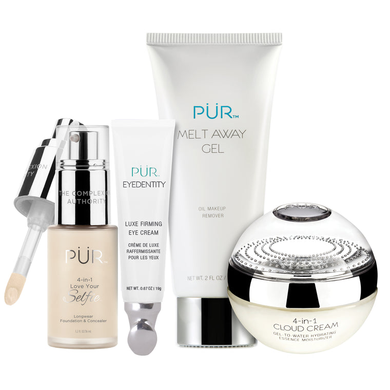 4 Piece Perfect Complexion Kit -Light