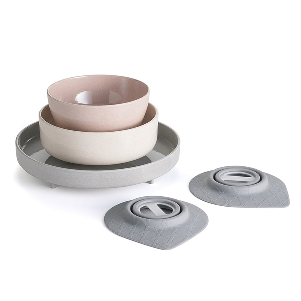 Miniware Eating Master Set in Mini Hipster Color Combo