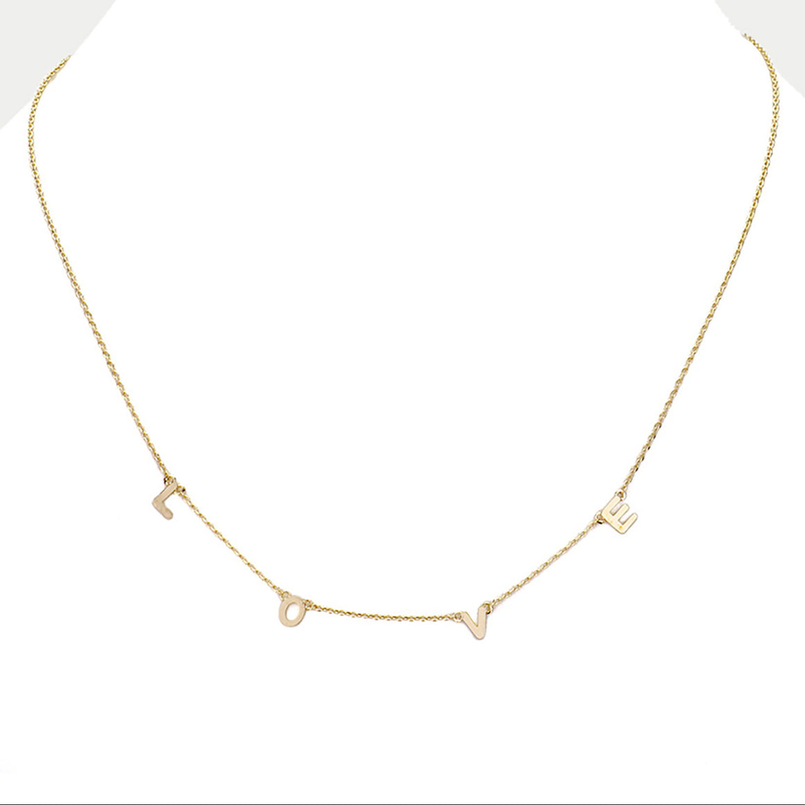 LOVE Necklace - Gold Plated