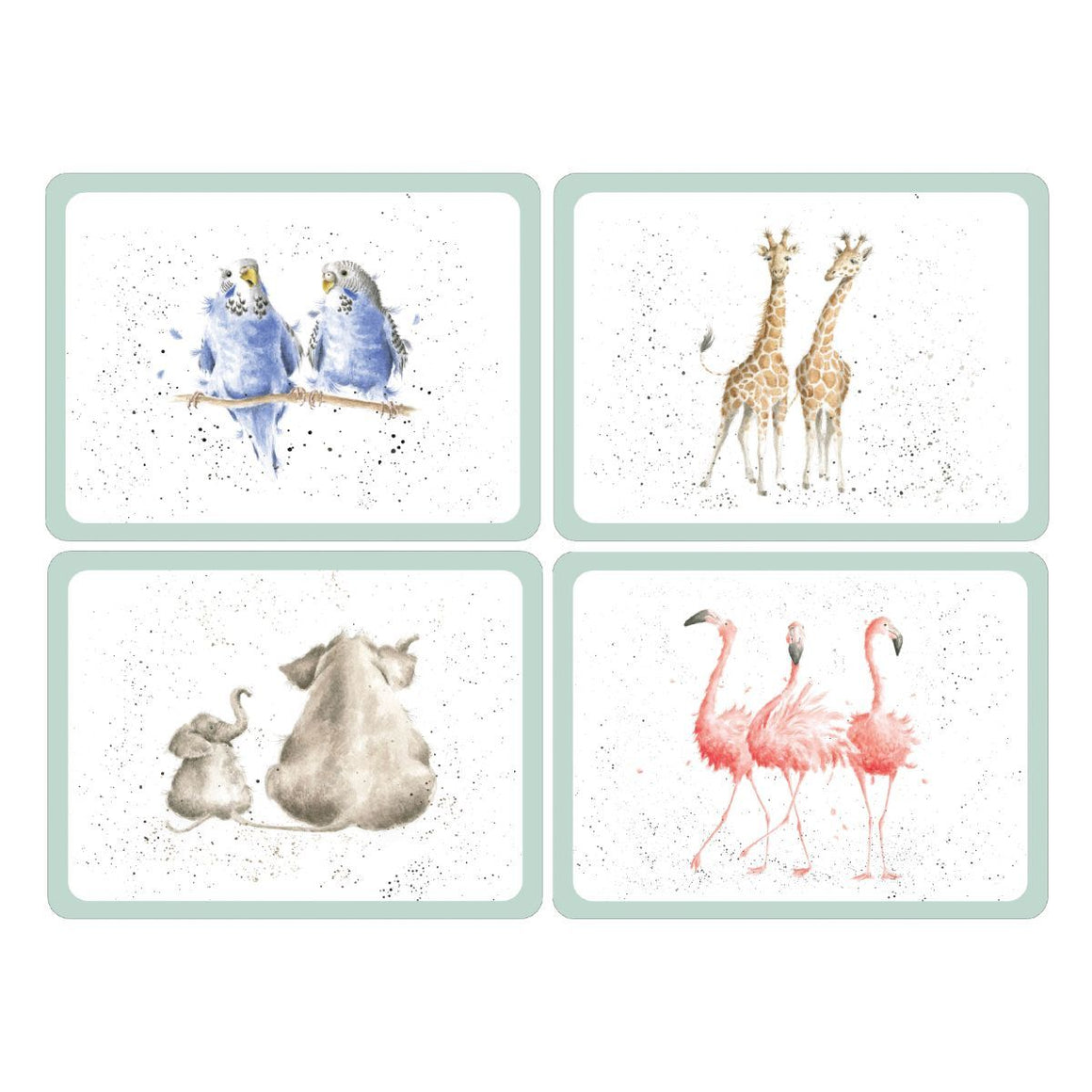 Wrendale Designs Placemats, Set of 4