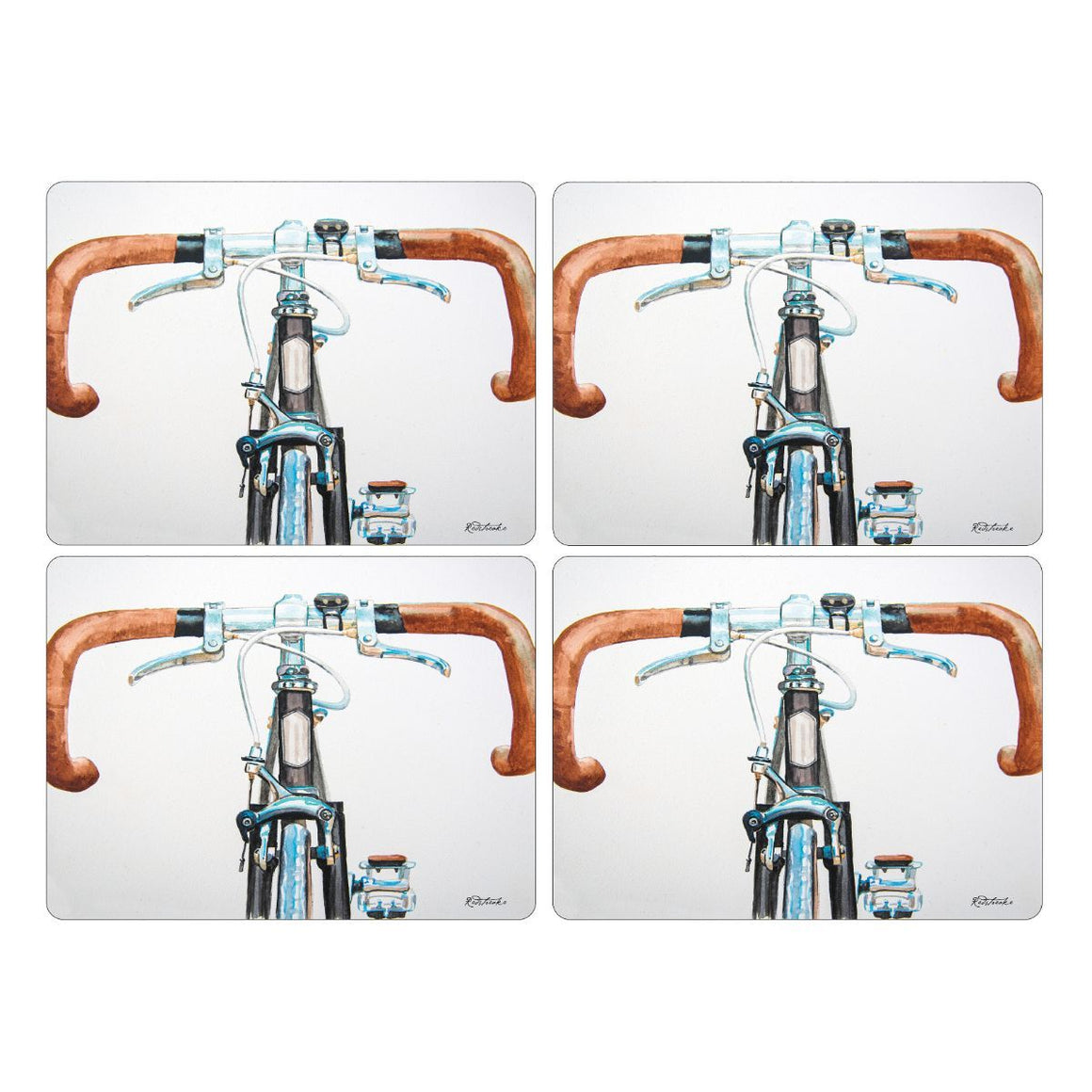 Bicycle Placemats, Set of 4