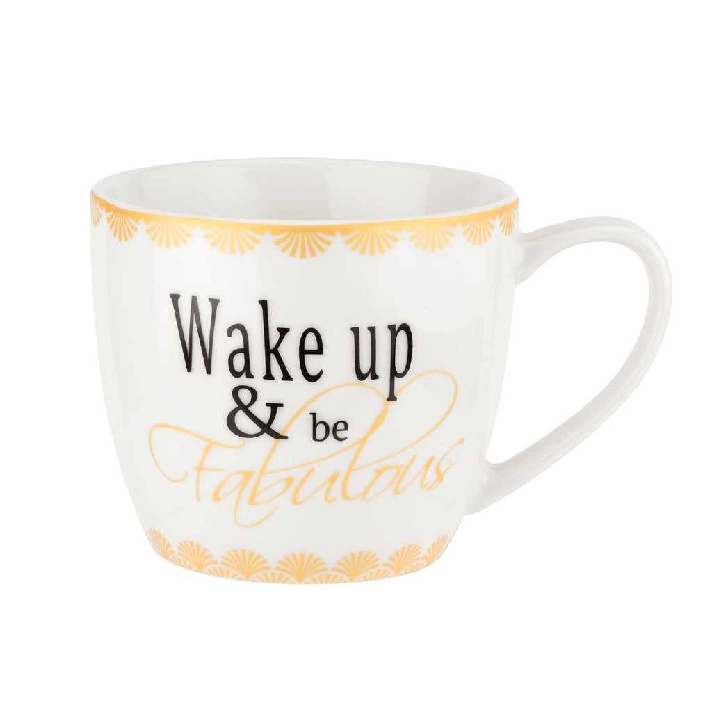 Wake up and Be Fabulous Mug, 16 oz