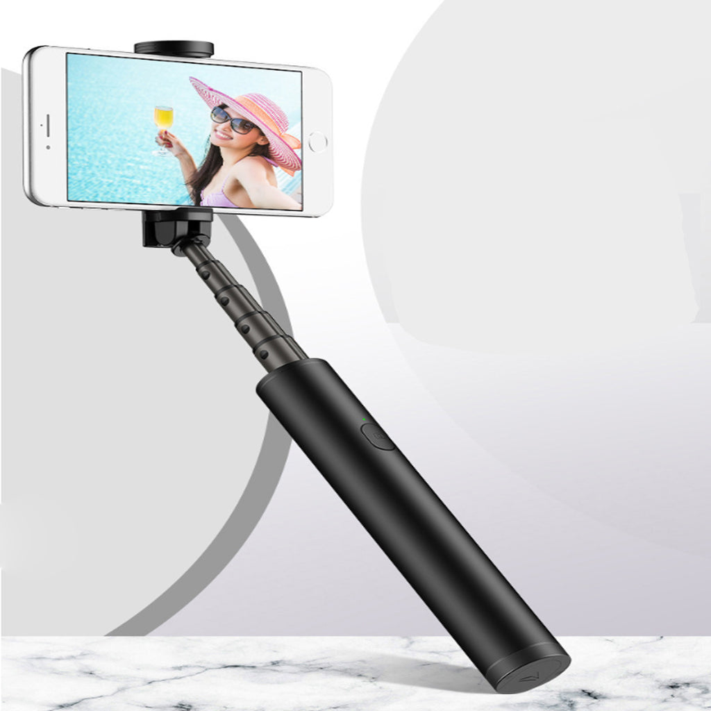 INVISI MINI SELFIE STICK EXTENDABLE AND FOLDABLE - RED