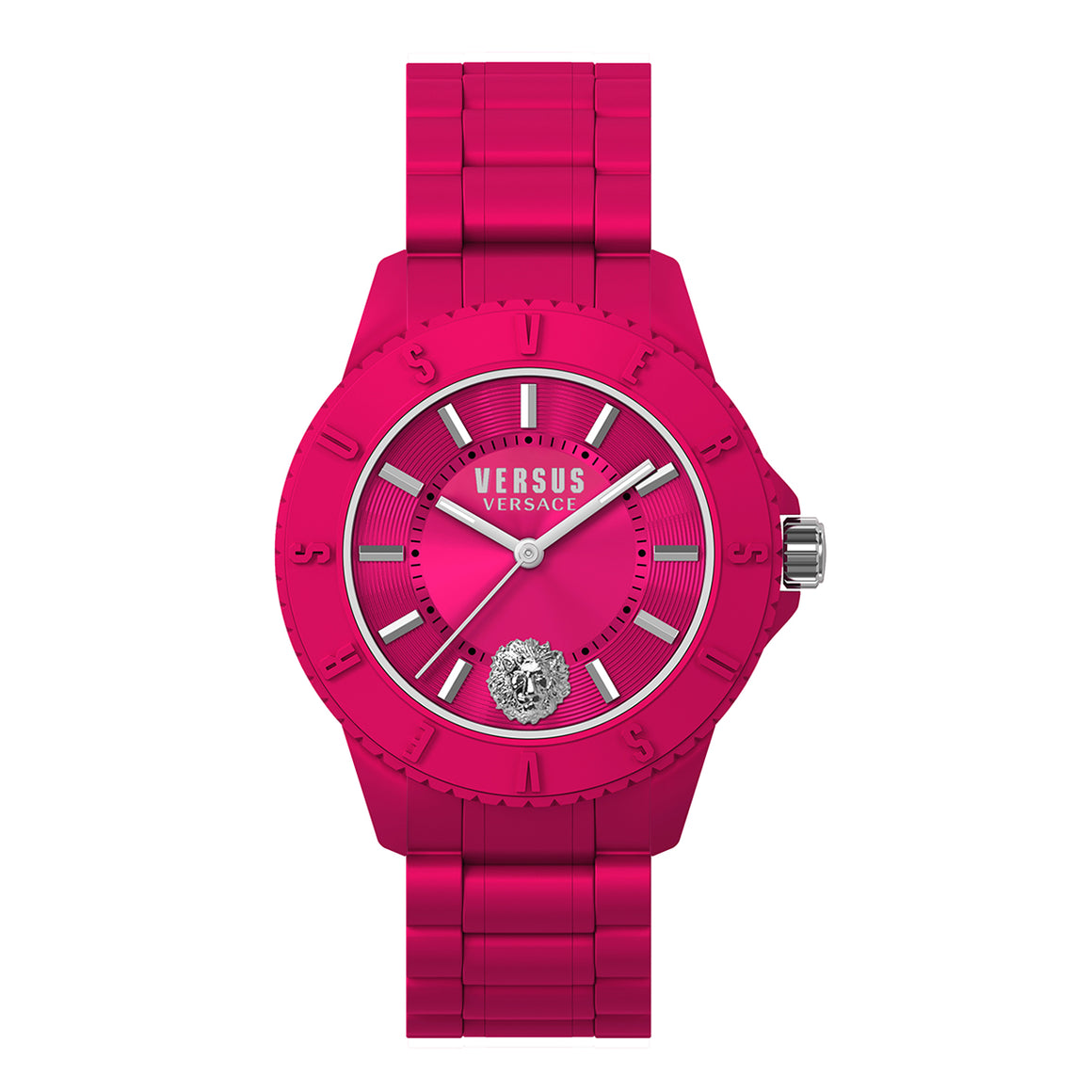 42mm Tokyo Pink Dial Pink Silicone Strap