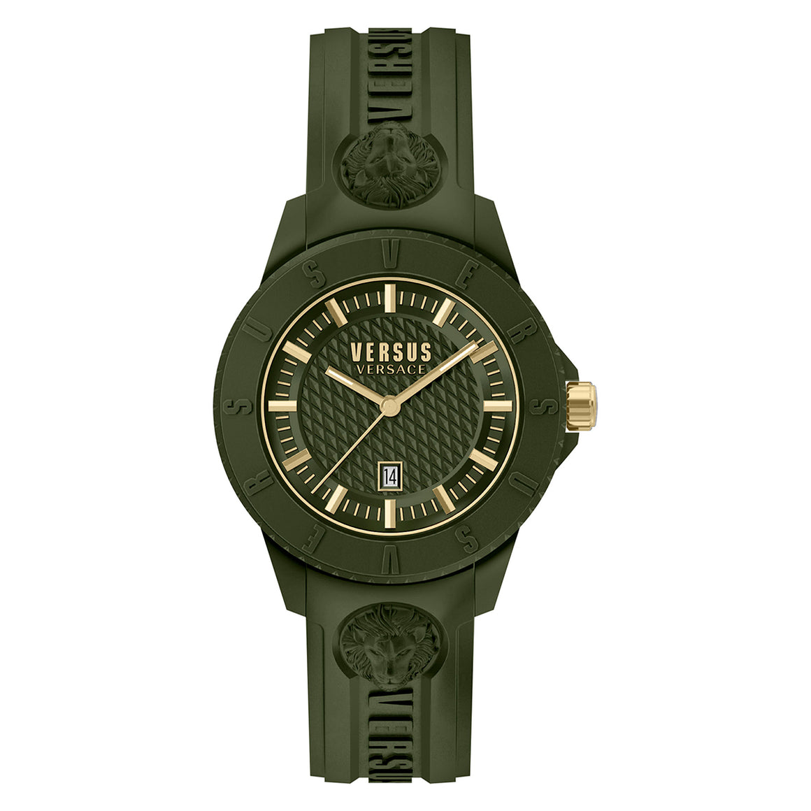 43mm Tokyo Green Dial Green Silicone Strap
