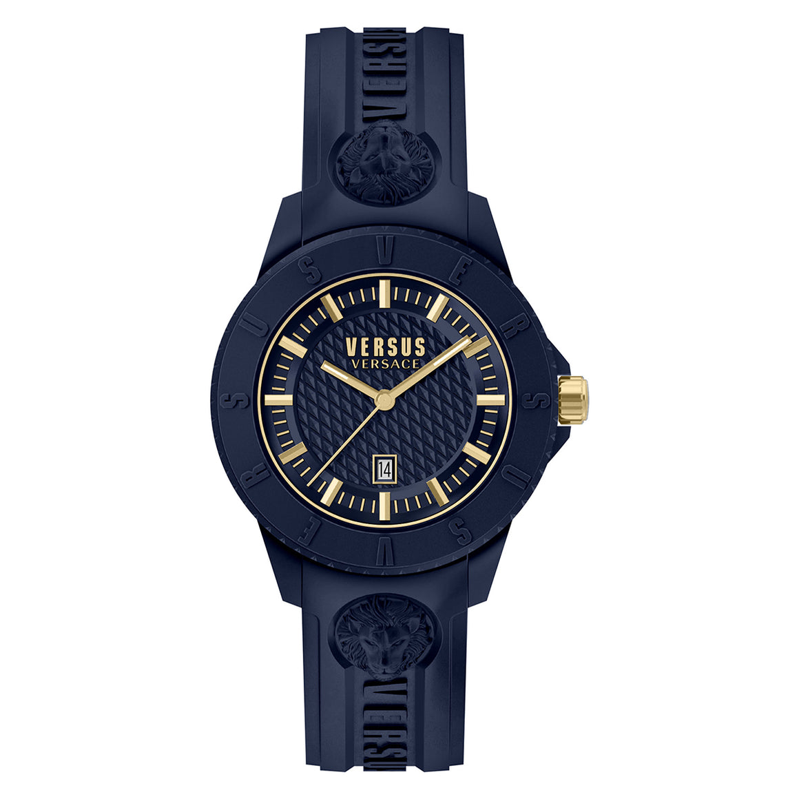 43mm Tokyo Navy Dial Navy Silicone Strap