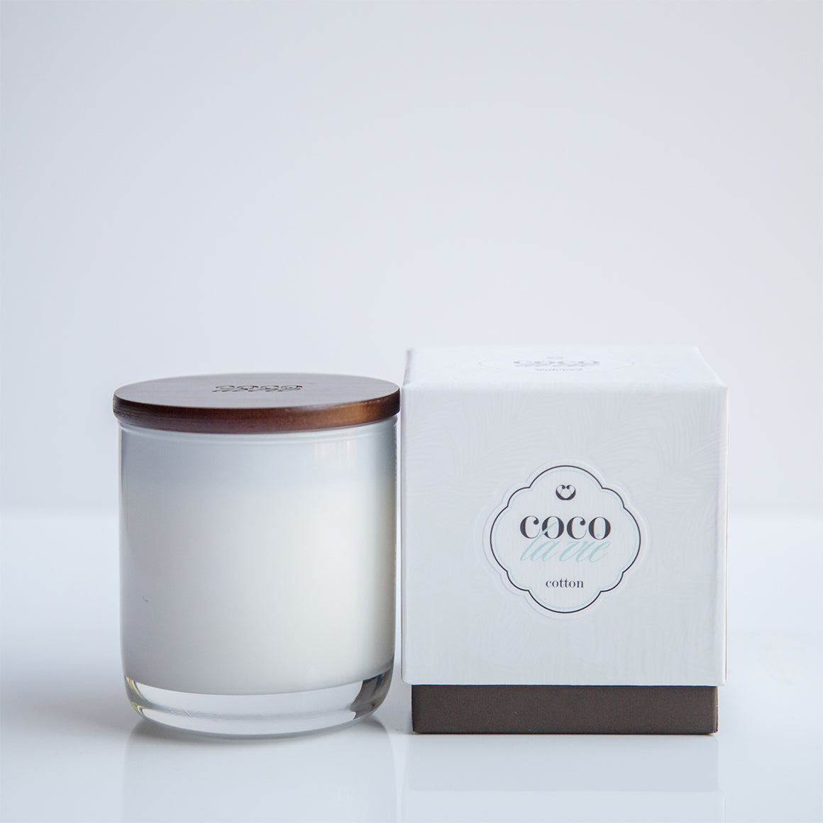 Coco La Vie COTTON Scented Massage Candle