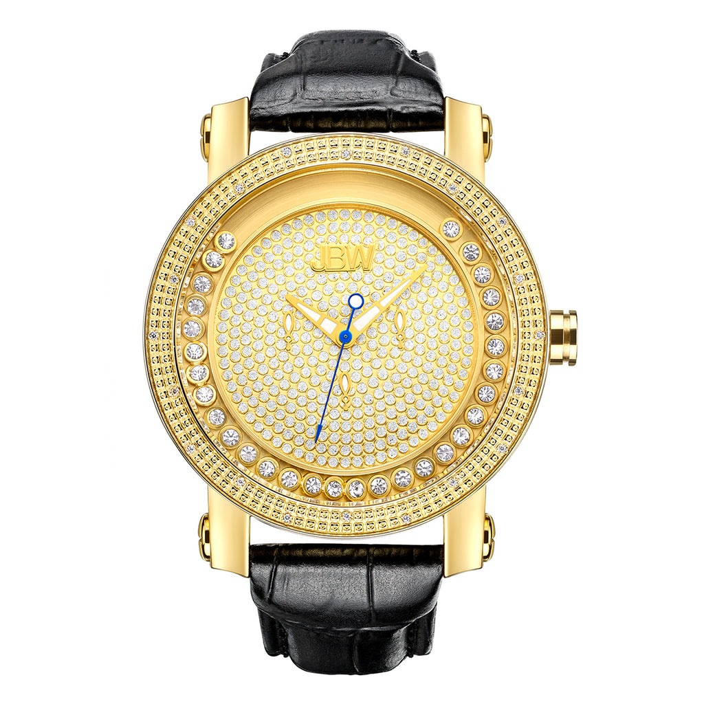 Men's Hendrix Diamond Watch - Gold