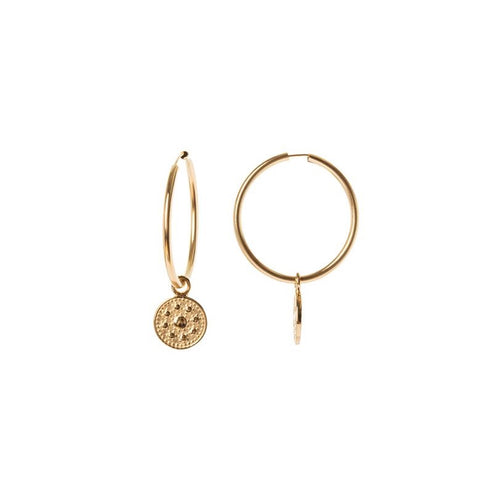Royal Hoops - 14k yellow gold filled